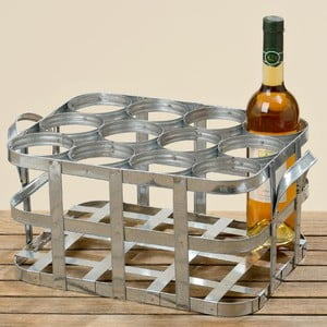 Stojak na 12 butelek wina Samy
