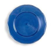Duży niebieski talerz Brandani