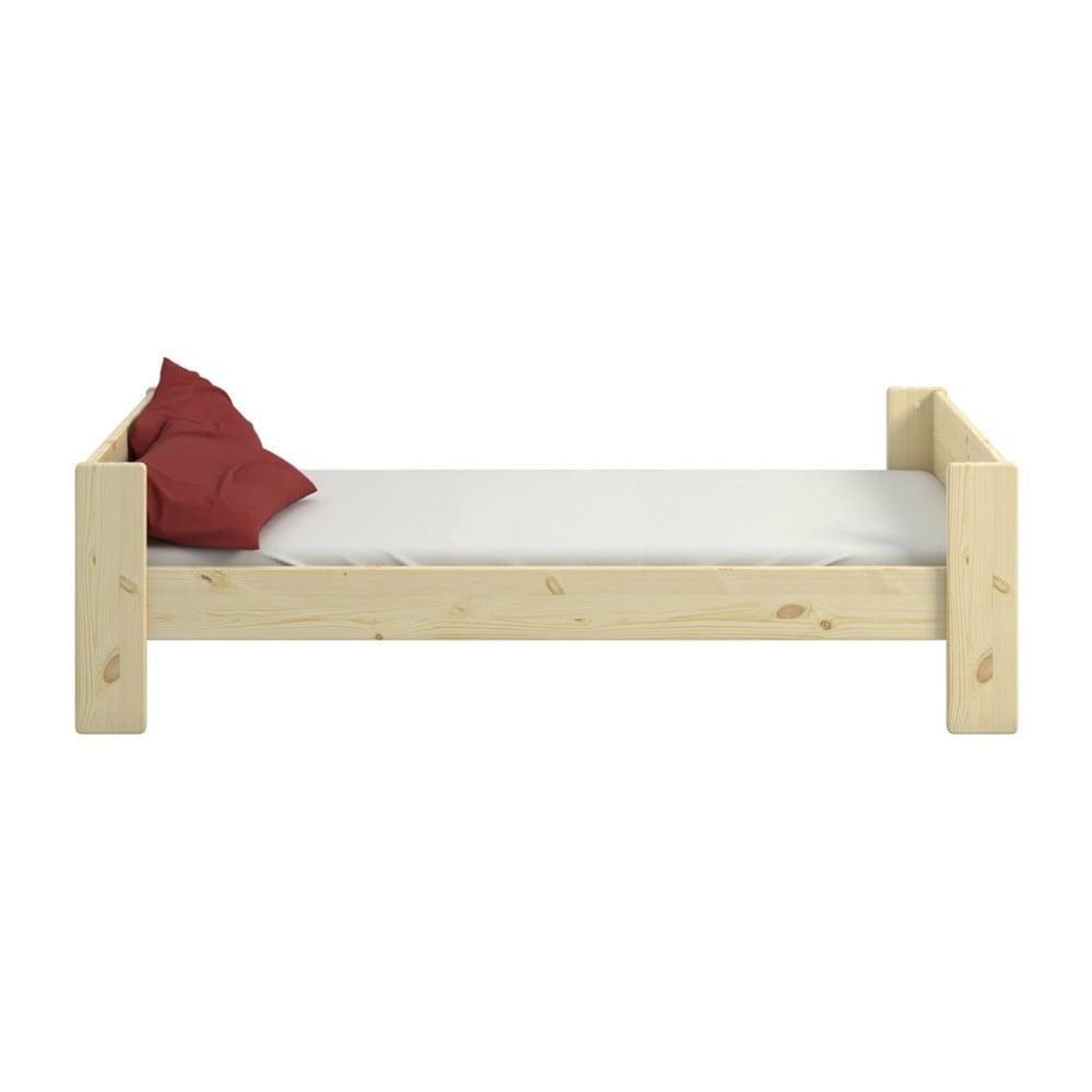 Łóżko dziecięce z drewna sosnowego Steens For Kids, 90x200 cm