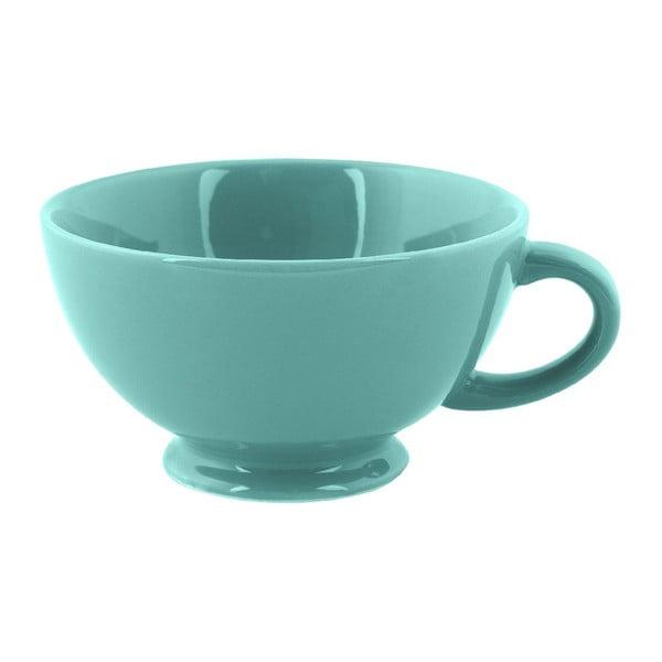 Kubek Jumbo Cappuccino, turkusowy