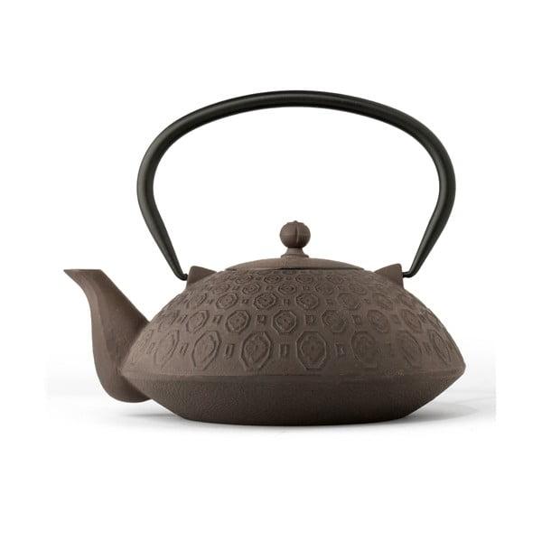 Brązowy   czajnik żeliwny Bredemeijer Yinan, 1,2 l