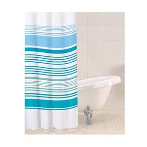 Zasłona prysznicowa Aqua Stripe, 180x180 cm