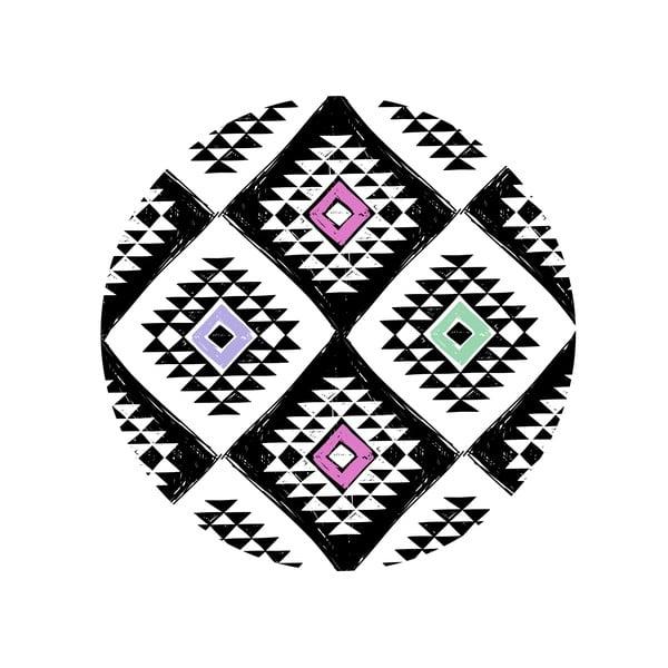Zestaw 2 stolików Aztec Diamond, 35 cm + 49 cm