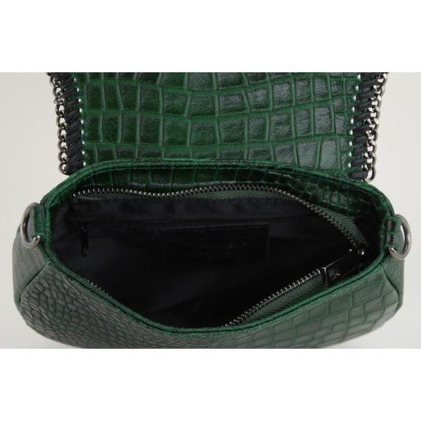 Skórzana torebka Valentina Verde