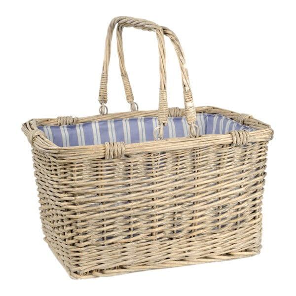 Koszyk z uchwytami Willow, 43x33x24 cm