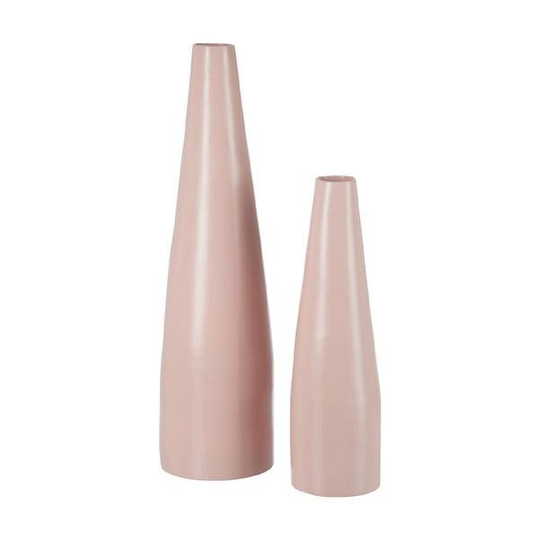 Bambusowy wazon Bamboo Pink, 62 cm