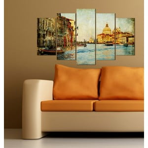 5-częściowy obraz Venezia
