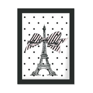 Plakat w ramie Eiffel and Dots, 30x40 cm