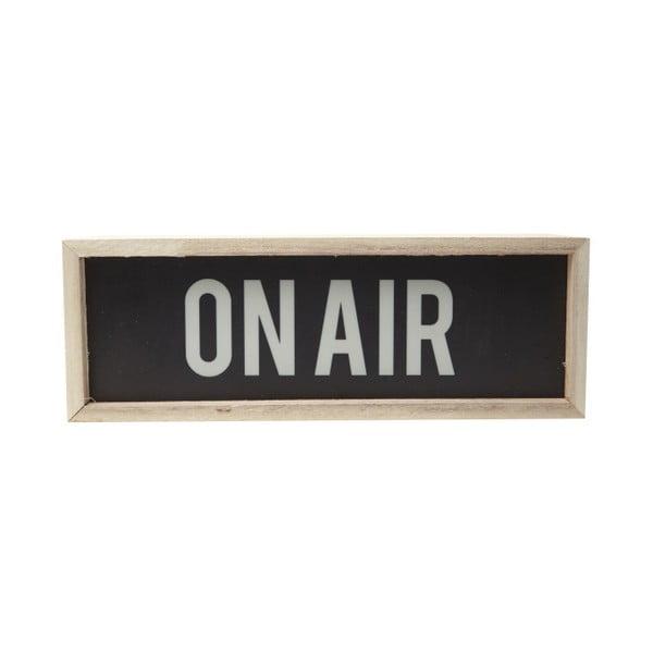 Dekoracja świetlna YWL On air