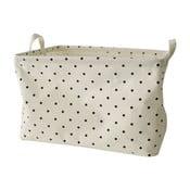 Koszyk tekstylny Maiko z małymi kropeczkami