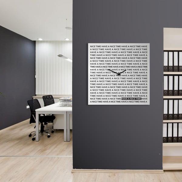 Zegar Nice Time, 80x80 cm