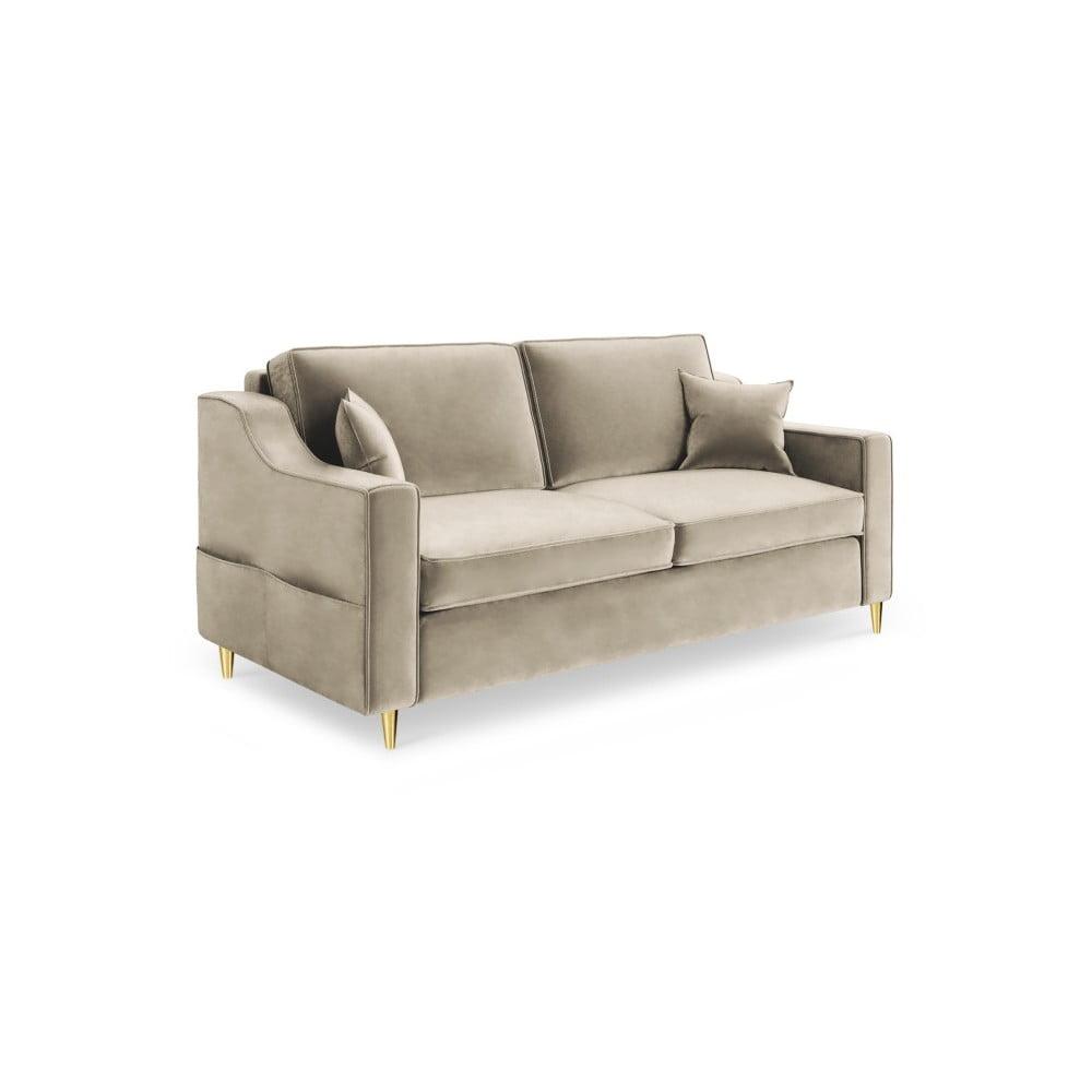 Beżowa sofa 2-osobowa Mazzini Sofas Marigold