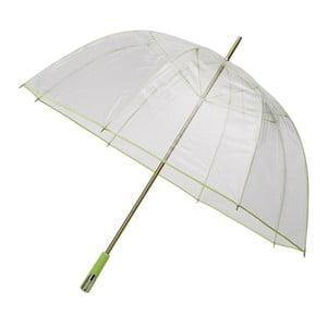 Przezroczysty parasol Falconetti Lime Green