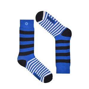 Skarpetki Qnoop Linear Wide Blue, rozm. 39-42