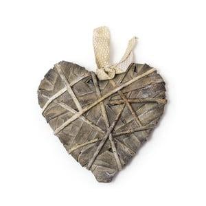 Serce dekoracyjne z materiałów naturalnych Ego Dekor