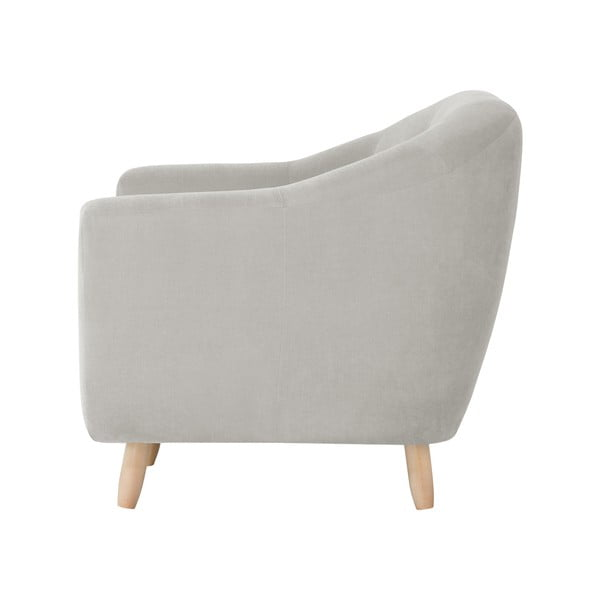 Kremowa sofa trzyosobowa Jalouse Maison Vicky
