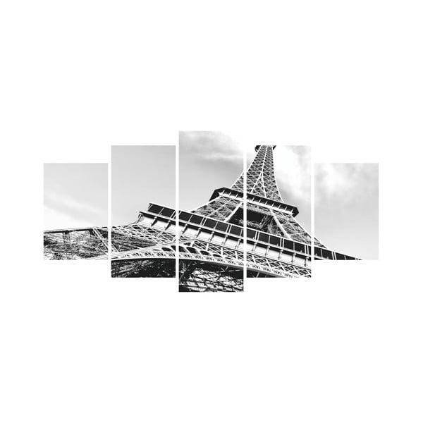 Wieloczęściowy obraz Black&White no. 53, 100x50 cm