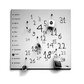 Magnetyczny kalendarz dESIGNoBJECT.it Krok White,50x50cm