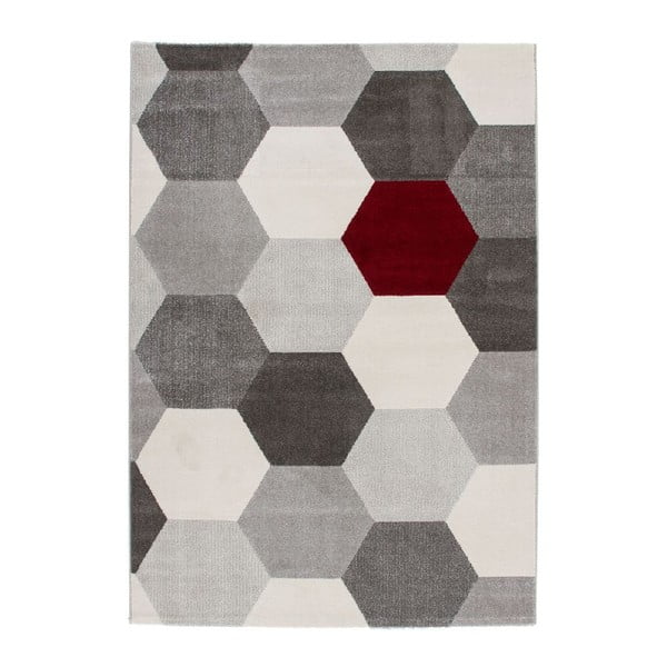 Dywan Sevilla Grey/White, 110x60 cm