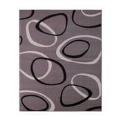 Szary dywan Hanse Home Prime Pile Rings Grey, 80 x 300 cm