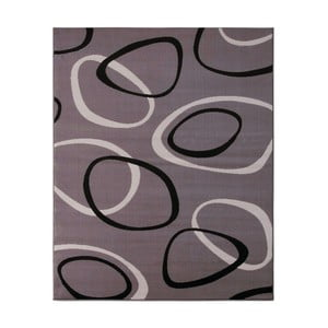 Dywan Hanse Home Prime Pile Rings Grey, 60 x 110 cm