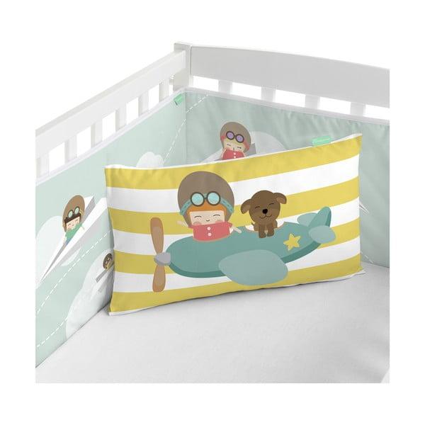 Ochraniacz do łóżeczka Happynois Learning to Fly, 210x40 cm