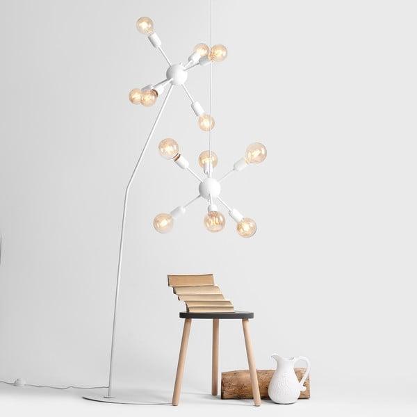 Biała lampa wisząca Scorpius Grupo
