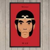 """Plakat """"Monkey"""", 29,7x42 cm"""