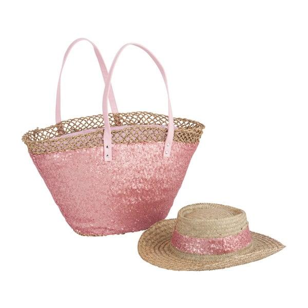Torba plażowa i kapelusz Spangle