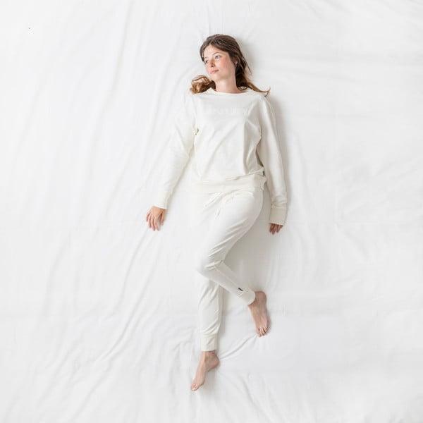 Białe spodnie damskie Snurk Uni, S