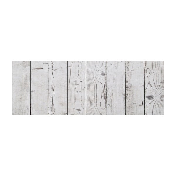 Winylowy dywan Cocina Tablas Blanco Gris, 66x180 cm