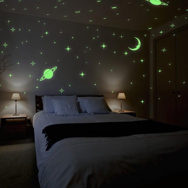 Naklejka świecąca w ciemności Walplus Stars and Moons