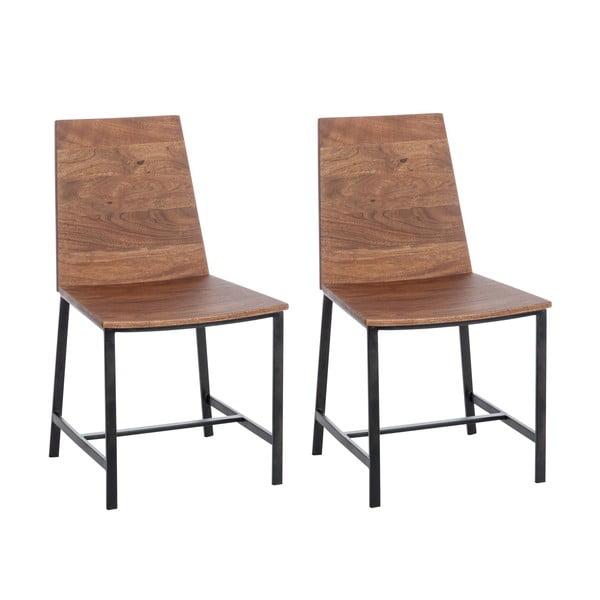 Zestaw 2 krzeseł Jules Natural