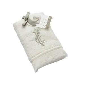 Ręcznik z inicjałem I, 30x50 cm