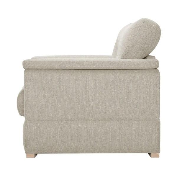 Kremowa sofa 3-osobowa Stella Cadente Maison Madeiro