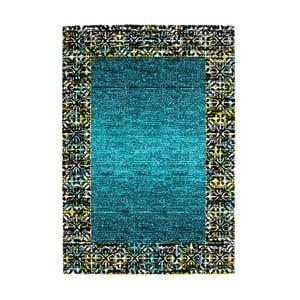 Dywan Aztec turkusowy, 80x150cm
