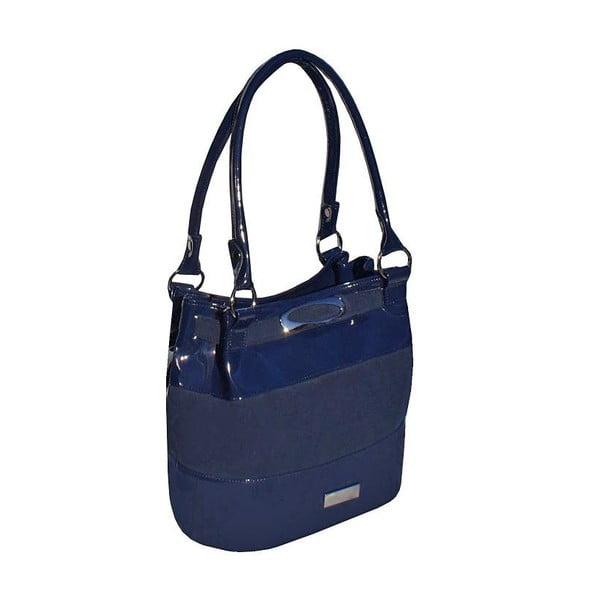 Skórzana torebka Boscollo Blue 2532