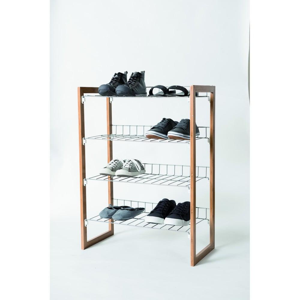 Regał na buty z 4 półkami Compactor