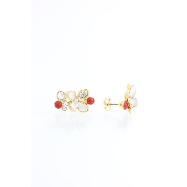 Pozłacane kolczyki z kryształami Swarovski Elements Laura Bruni Elvira