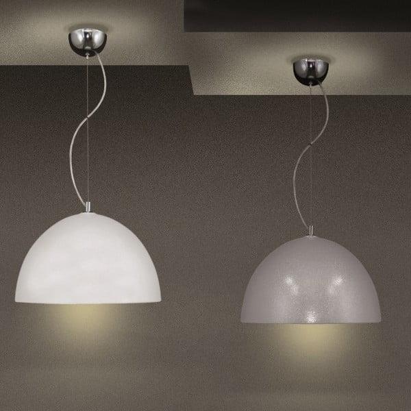 Lampa sufitowa Terpsi, srebrna