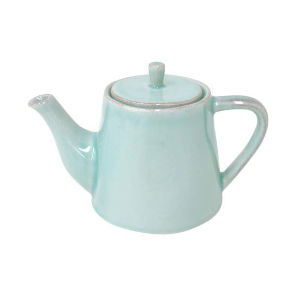 Turkusowy dzbanek ceramiczny do herbaty Lisa 500 ml