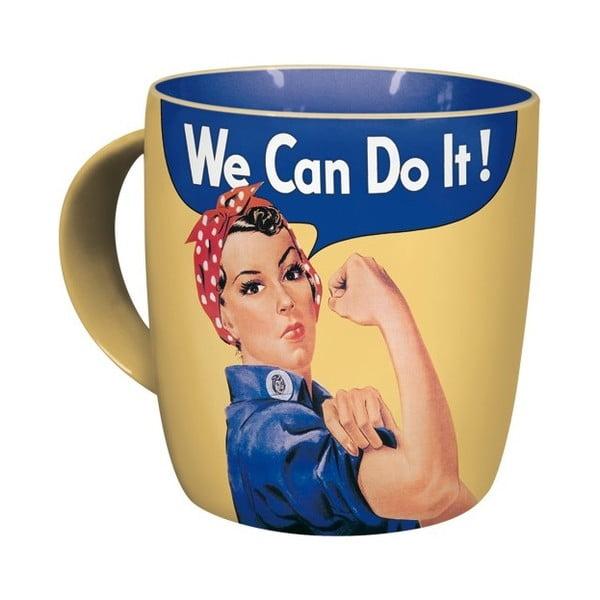 Kubek ceramiczny We Can Do It, 330 ml