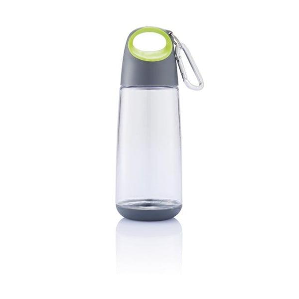 Limonkowa butelka z karabińczykiem XD Design Mini Bopp
