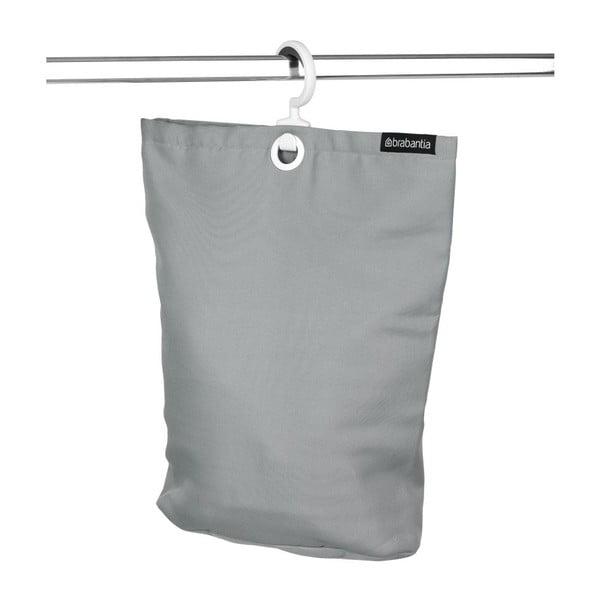 Torba na pranie do zawieszenia Space Grey, 35 l