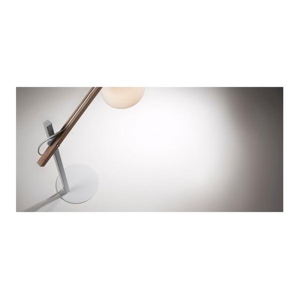 Biała lampa stołowa La Forma Jovik