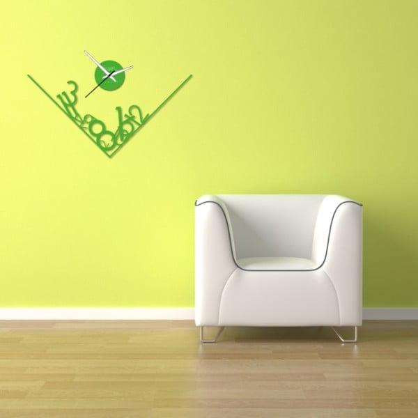 Zegar ścienny Green Get Lost