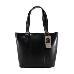 Czarna torebka skórzana Fiona