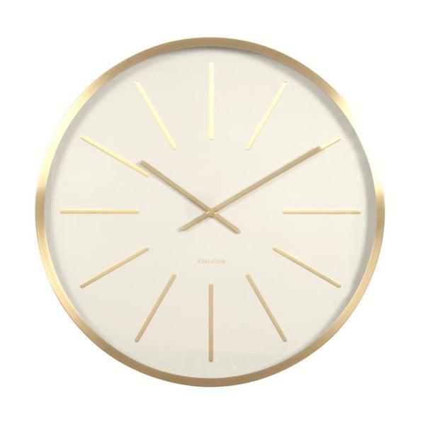 Zegar Present Time Maxiwmus Brass