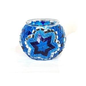 Świecznik szklany Oriental III