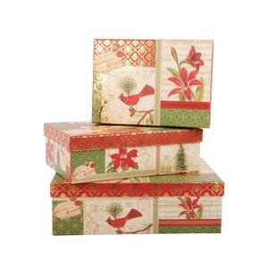 Zestaw 3 pudełek Christmas